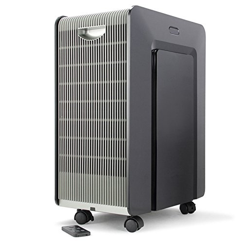 Black Air Purifier With Ebook by MRT SUPPLY