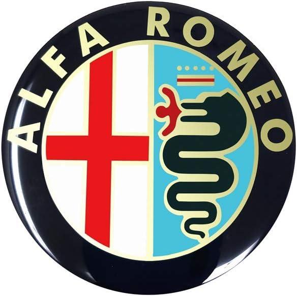 Alfa Romeo 21849 Official 3D Sticker Old Logo 58 mm