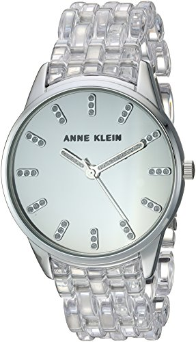 Anne Klein 2617CLSV Silver Tone Transparent product image