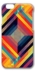iPhone 6 Plus Case, Ultra Slim Pattern Bumper for iPhone 6 Plus Cover (5.5) Kaleidoscopic 7 3D iPhone 6 Plus cases for Girls iphone 6 Plus case hard PC Skin