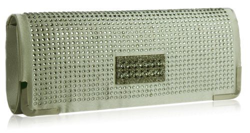 DELIVERY Crystal Evening FREE Decoration UK Beautiful Clutch Ivory With 78FRFAW