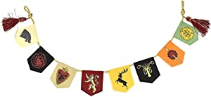 Kurt Adler 32 Inch Game of Thrones Sigil Banner Garland