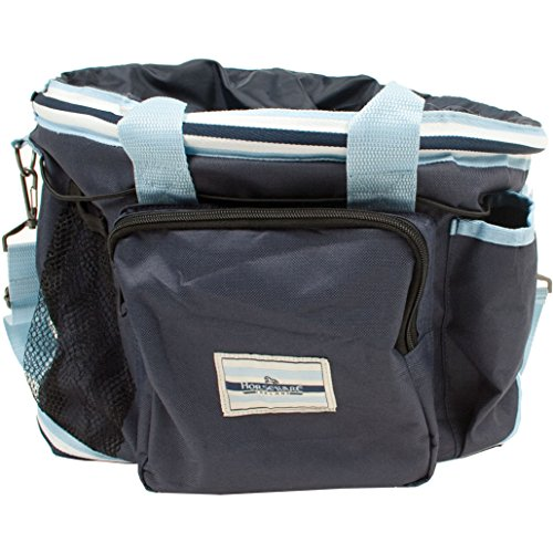 Rambo Newmarket Grooming Kit - Navy Whitney Stripes