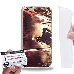 "Case88 [Apple iPhone 6 / 6s Plus (5.5"")] Gel TPU Carcasa/Funda & Tarjeta de garantía - Fate Stay Night Saber 1004"