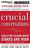 img - for By Kerry Patterson - Crucial Conversations: Tools for Talking When Stakes Are High (2 Abr Upd) (7/16/13) book / textbook / text book