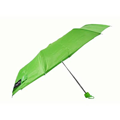 Rain Pro Compact Manual Umbrella (green) durable service