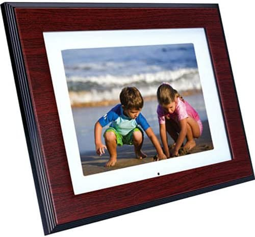 HP DF800 8-Inch High Resolution Digital Picture Frame with Remote
