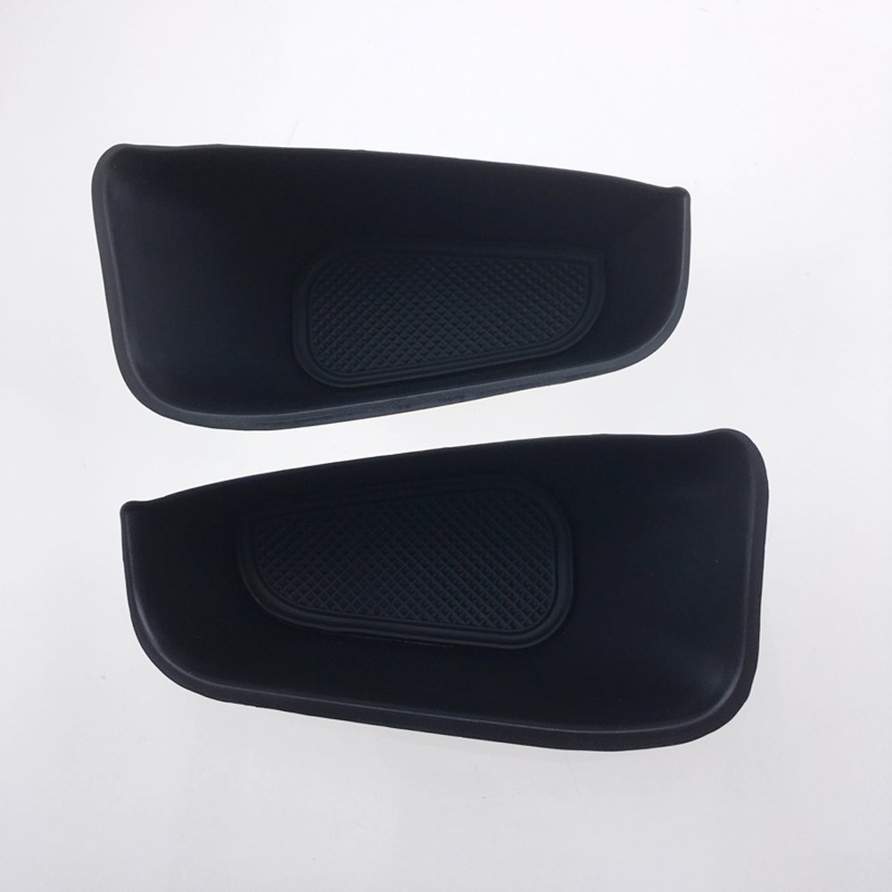 Only Fit Left Hand Side Driving 2008-2016 For Audi Q5 8R Interior Accessories Front /& Rear Door Inner Storage Box Organizer Container