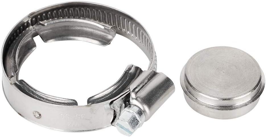 Piastra di chiusura valvola kit di tappi piastra di blocco valvola di scarico valvola di scarico gas in alluminio CNC adatta per Megane 1.9 TDI