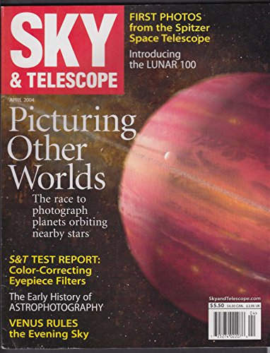 SKY & TELESCOPE Spitzer Space Telescope RegiStax Texas Star Party 4 2004 (Space Spitzer Telescope)