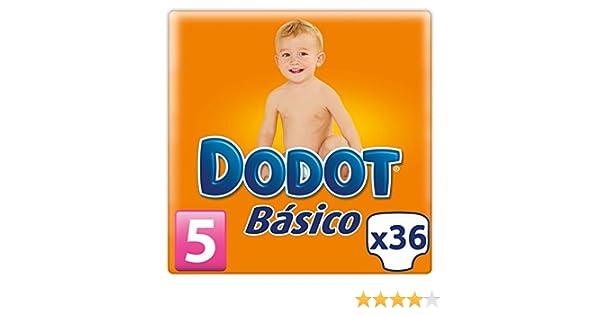 Dodot - Pañales básicos - Talla 5 - 36 unidades: Amazon.es: Salud y cuidado personal