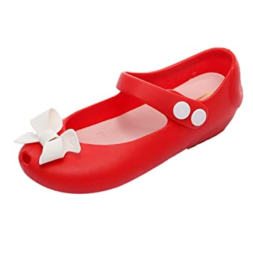4915e289f0d Ouneed EU23-31 Bebe Fille Chaussures Sandale Plastique Ete Fille Bebe  Chaussures Plage Sandale de