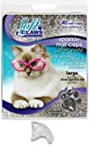 Soft Claws for Cats, Size Large, Color Silver Glitter, My Pet Supplies