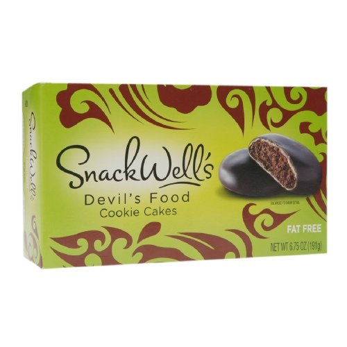 SnackWell's Devil's Food Cookie Cakes 6.75 oz (Pack of 4) by SNACKWELLS