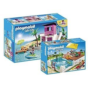 Playmobil Luxury Beach House Playset And