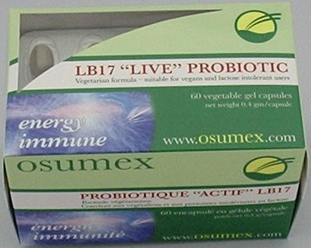LB17 Live Probiotic by Osumex by Osumex