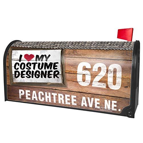 NEONBLOND Custom Mailbox Cover I Heart Love My Costume Designer -