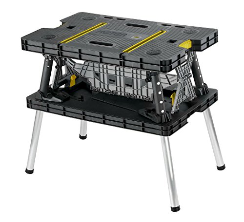 Keter 17182239 Folding Compact Workbench Work Table, 21.7 x 33.5