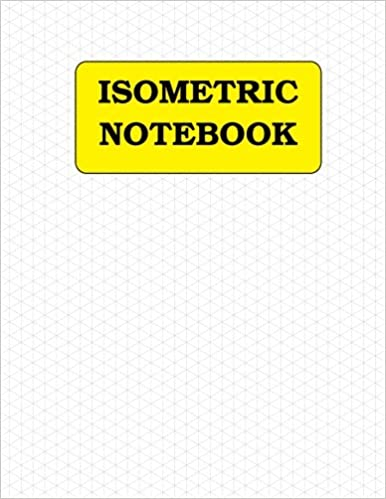 Book Isometric Notebook:120 pages (1/4 inch distance between parallel lines)
