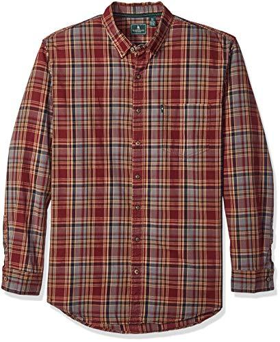 G.H. Bass & Co. Mens Big and Tall Madawaska Trail Long Sleeve Shirt