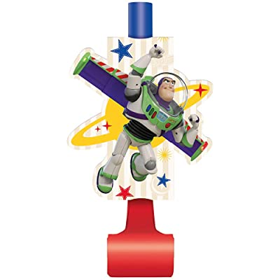 Unique Industries Disney Toy Story 4 Movie Paper Blowouts - 8 Per Package: Clothing