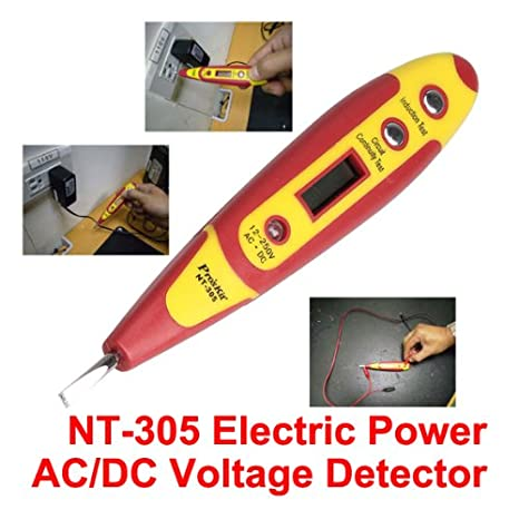 NiceButy Non-Contact AC Voltage Tester 90V-1000V Volt Warning Pen LED Display Portable Voltage Detector DIY Tools