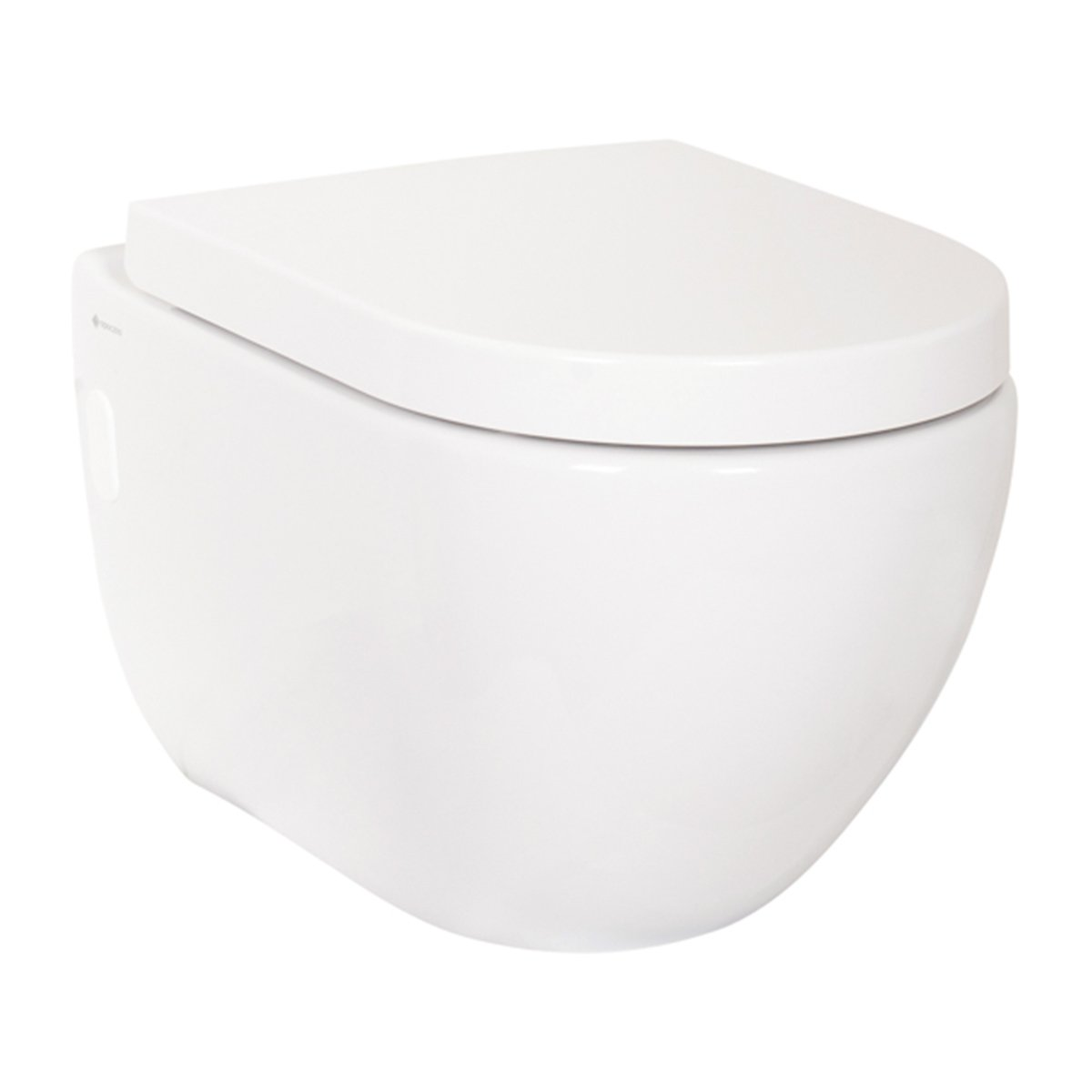 Designer Bathroom Wall Mounted WC Toilet with Soft Close Seat Aquariss