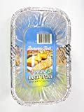 15 Disposable Aluminum Mini Loaf pans