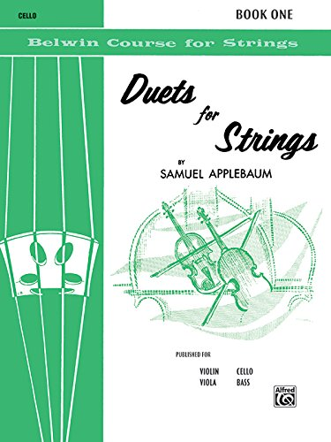 Duets for Strings: Cello (Belwin Course for - Builder String Violin Book