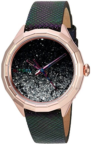 diesel-womens-dz5536-kween-b-rose-gold-multi-color-leather-watch