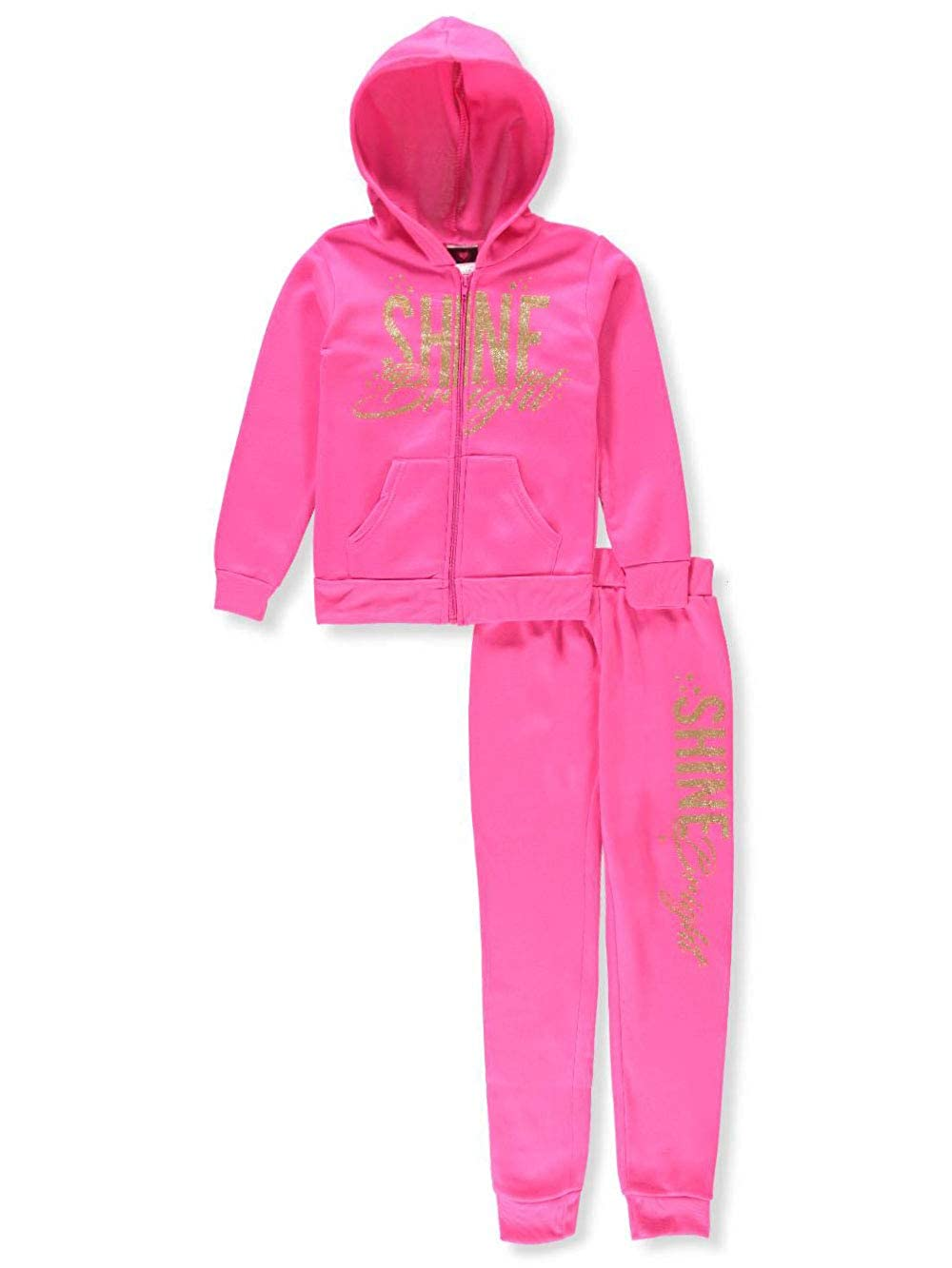 Diva Girls' 2-Piece Sweatsuit Pants Set