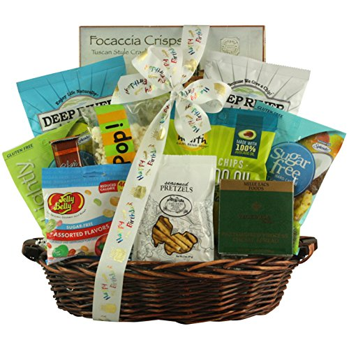 GreatArrivals Sugar Free Birthday Celebration Gift Basket, 5