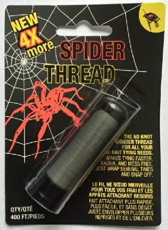 STD-2 Spiderthread 400' Bulk W/Dispenser Clear Fly Tying