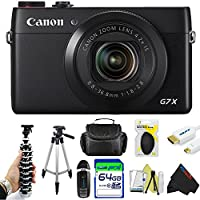 Canon PowerShot G7 X Digital Camera + Pixi-Advanced Accessory Bundle Basic Intro Review Image