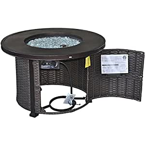 Better Homes And Gardens Colebrook Gas Fire Pit Watches