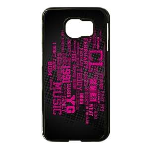 2NE1 Phone Case for Samsung Galaxy S 6 black
