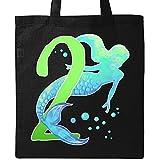 Inktastic - Second Birthday Mermaid Tote Bag Black 2f045