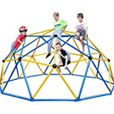 Zupapa 2021 Upgraded Dome Climber with 2-Year Warranty, Decagonal Geo Jungle Gym Supporting 735LBS with Much Easier…