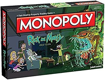 Monopoly Rick & Morty, Multicolor (Eleven Force 8436573610506 ...