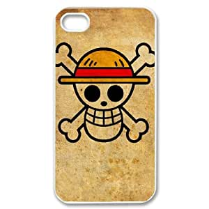Iphone 4,4S 2D PersonOne Piecezed Hard Back Durable Phone Case with One Piece Image