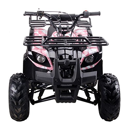 Coolster ARMY PINK 3125R New 125CC Kids ATV Fully Auto with Reverse by CRT MOTOR INC -US (Image #4)