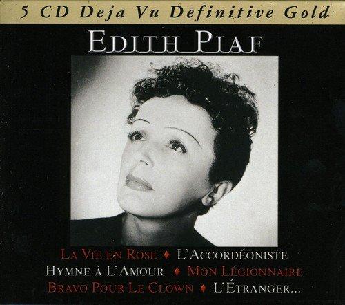 CD : Edith Piaf - Edith Piaf (Germany - Import, 5 Disc)