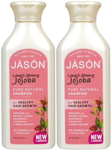 Jason Long & Strong Jojoba Shampoo - 16 oz - 2 - Jojoba Jason Shampoo