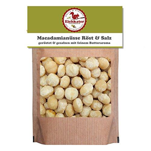 Eichkater Macadamianüsse Röst & Salz 4er-Pack (4x250 g)