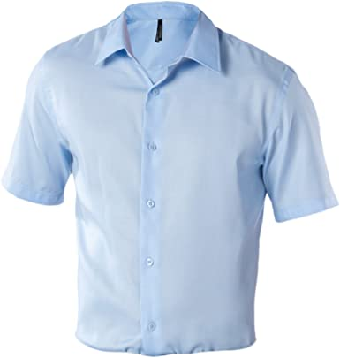 Camisa ajustée Manga Corta sin Planchar – 120 g/m² – Hombre ...