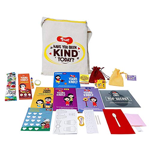 Toiing Yours Kindly - Learn Empathy & Kindness with This Experiential Learning Kit with 15 Activities for 5-10 Year Old Kids