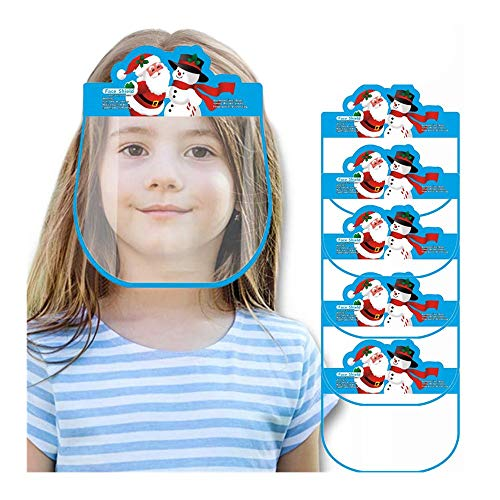 Kids Anti-Fog Face Protective, Protective Corrosion-Resistant Lens Lightweight Transparent Safety Covering, Elastic Band