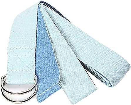 Amazon.com : Yuntown 8ft / 6ft Long Yoga Belts - Cotton ...