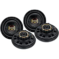 4) New BOSS D10F 10 3200W Car Slim/Flat Audio Subwoofers Subs Shallow Woofers