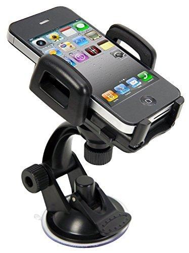 IBRA® One Touch 2 Car Mount Holder for iPhone 6s Plus 6s 5s 5c, Samsung Galaxy S6 Edge Plus S6 S5 S4, Note 5 4 3, Google Nexus 5 4, LG G4,HTC etc